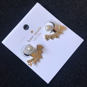 Kate Spade Gold Chantilly Earrings